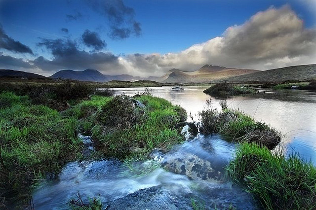 Traverse the Great Moor of Rannoch, one of the last remaining wildernesses in Europe