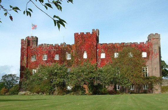 Scone Palace - the crowning place of Scottish kings