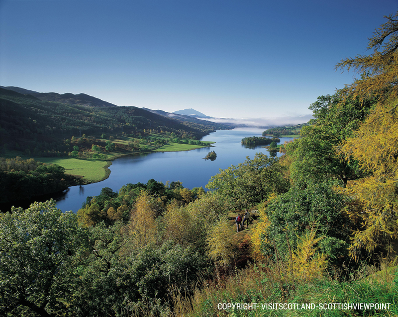 Cross  spectacular Scottish valleys and forests