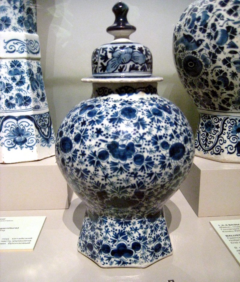 Delightful Delft - with its world famous blue and white earthenware