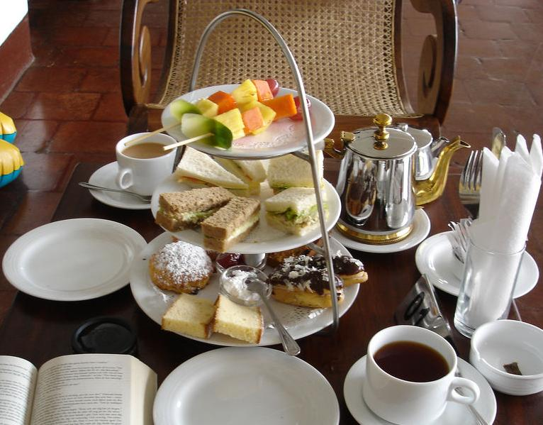 Enjoy traditional  'Afternoon Tea'