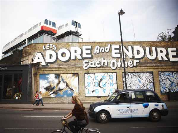 Guided tour of Hip East London