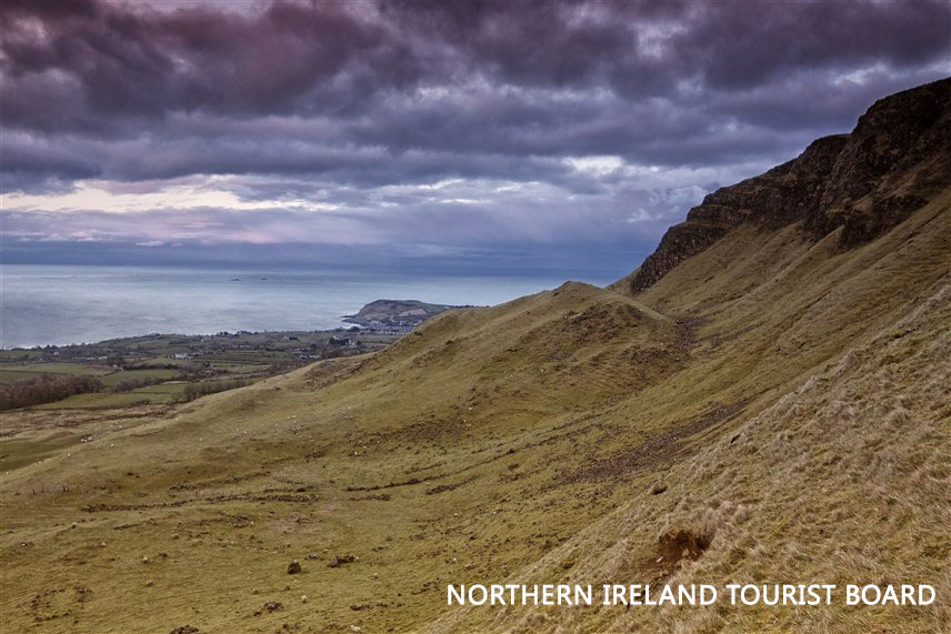 Cairncastle - where Ned Stark took his long-sword Ice and struck off the head of a Night's Watch deserter