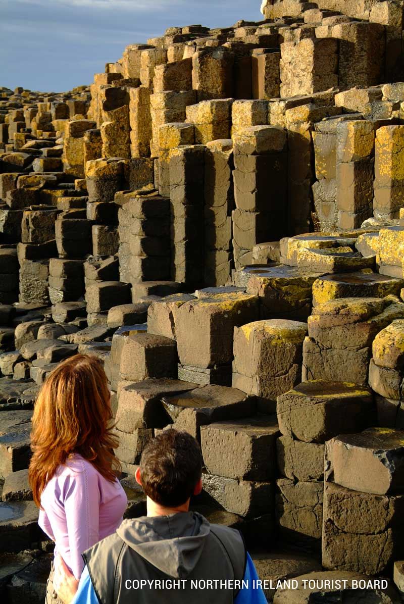 Giant's Causeway - with 40,0000 perfect basalt columns