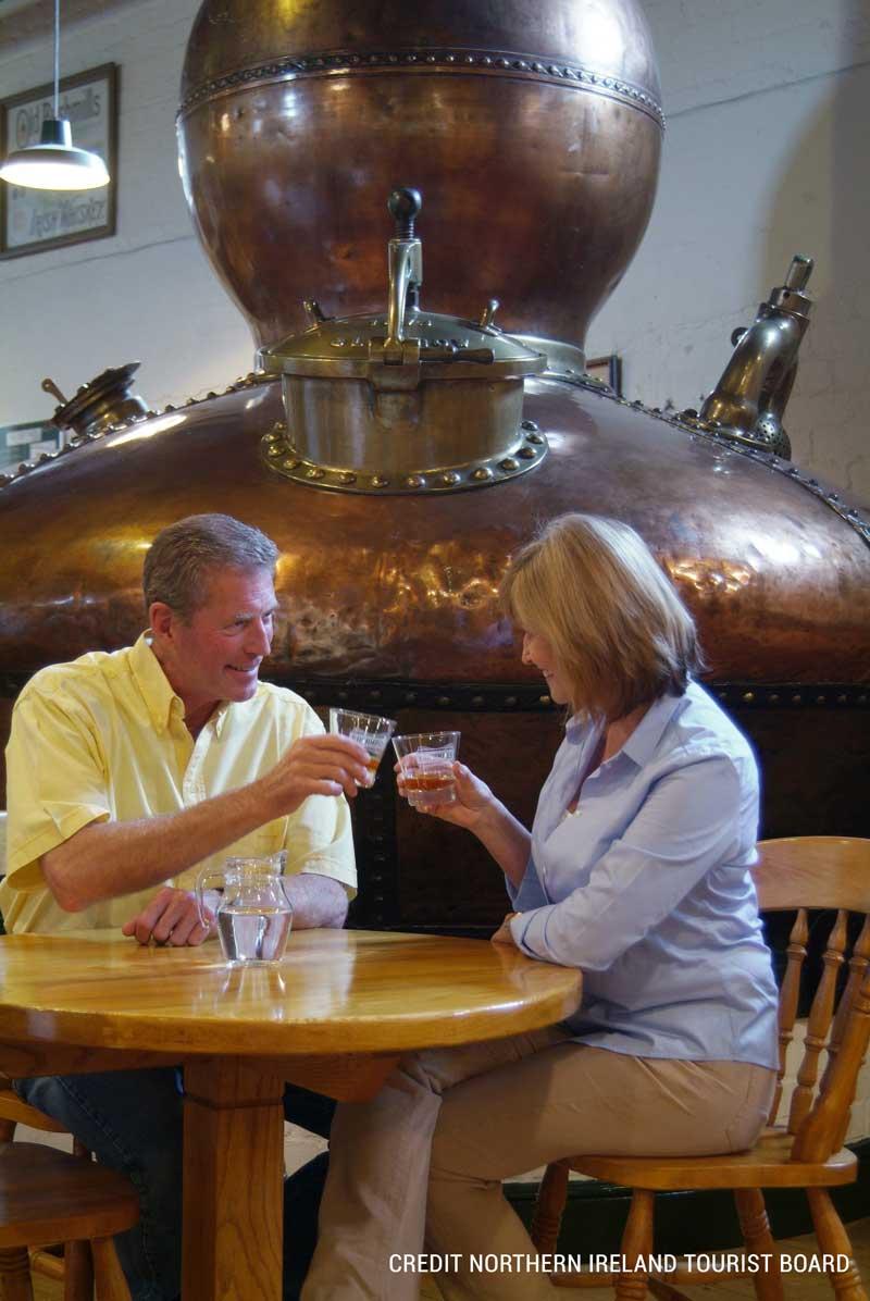 Enjoy a wee dram at Bushmills Distillery