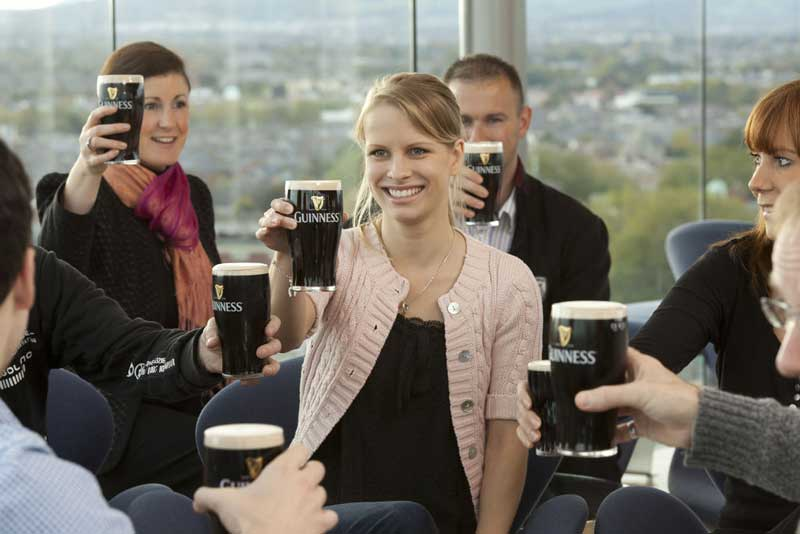 Journey into the heart of the world famous GUINNESS® brand and company