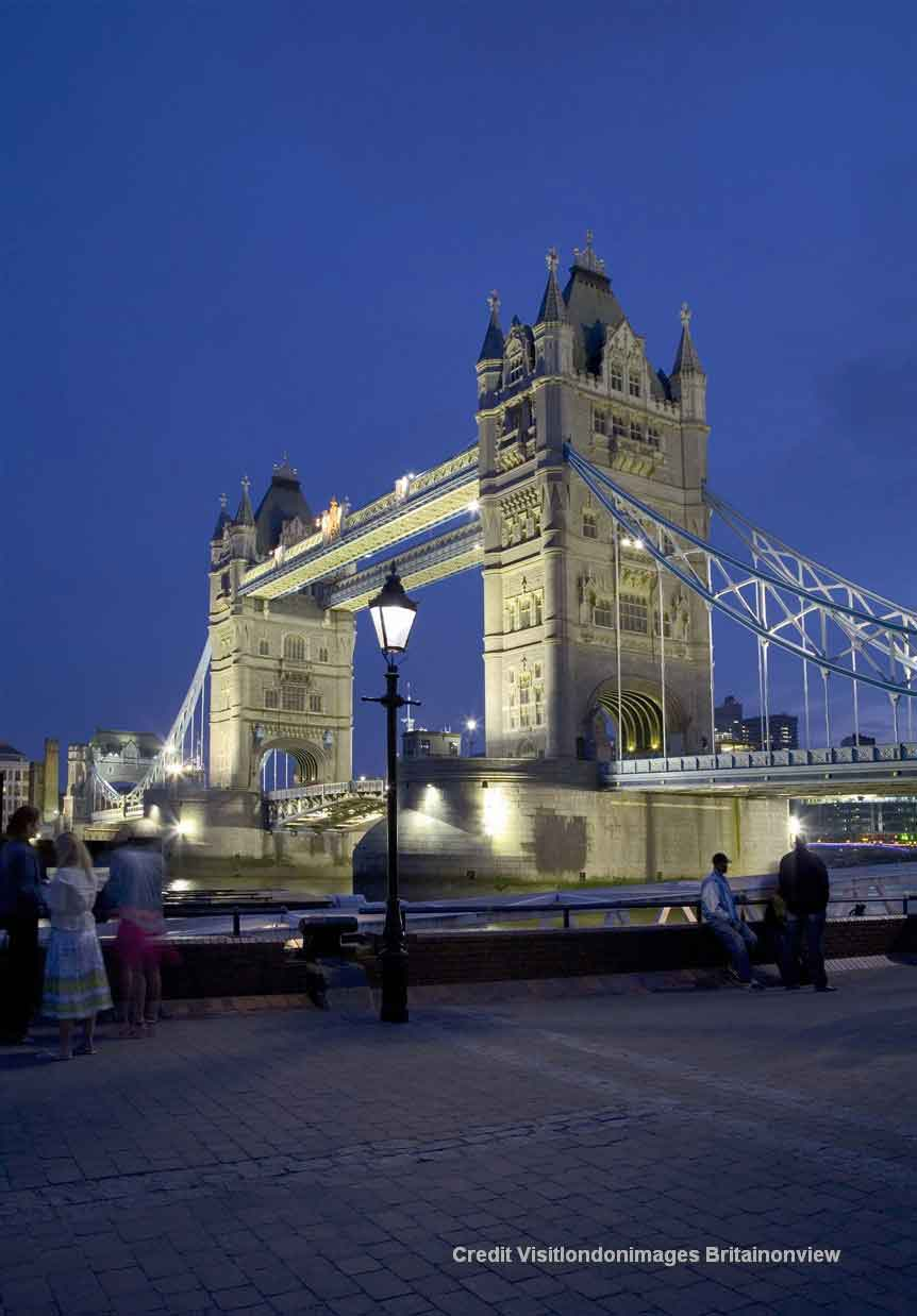 Enjoy a guided tour of London