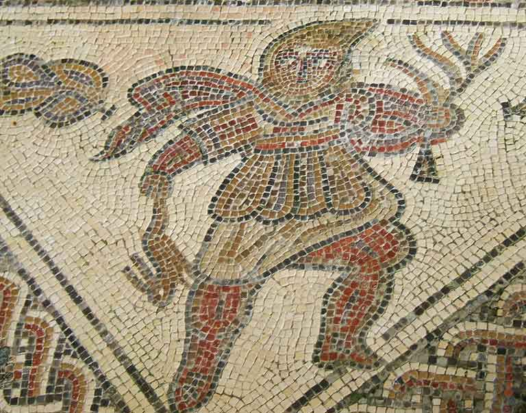 Admire Chedworth Roman Villa, home to some of the richest people in the country during its heyday in the 4th century