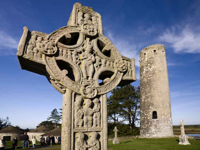 visit the medieval monastic centre in Clonmacnoise