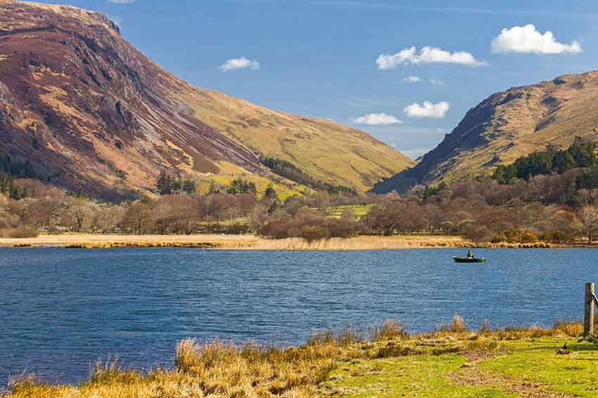Enjoy a scenic drive along Snowdonia National Park