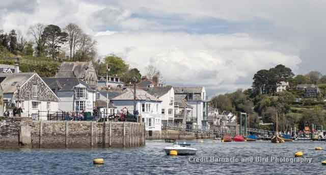 Fowey - a picturesque medieval harbour town