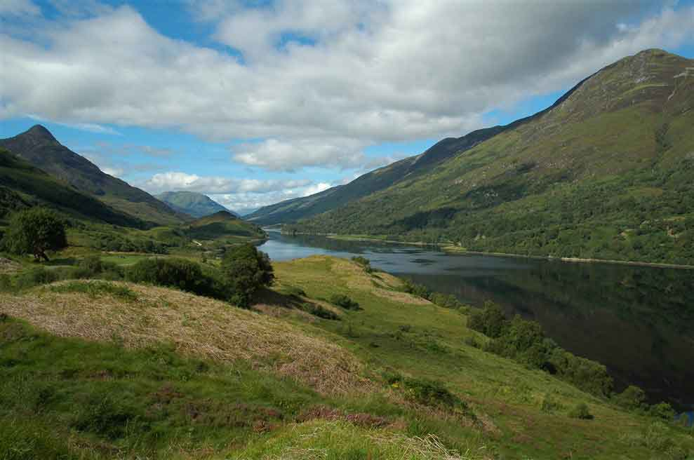 Traverse the spectacular Scottish Highlands