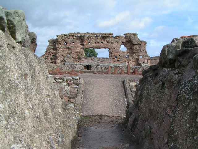 See Wroxeter (or 'Viroconium'), the fourth largest city in Roman Britain