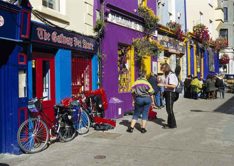 Discover  Galway 's medieval streets and waterways