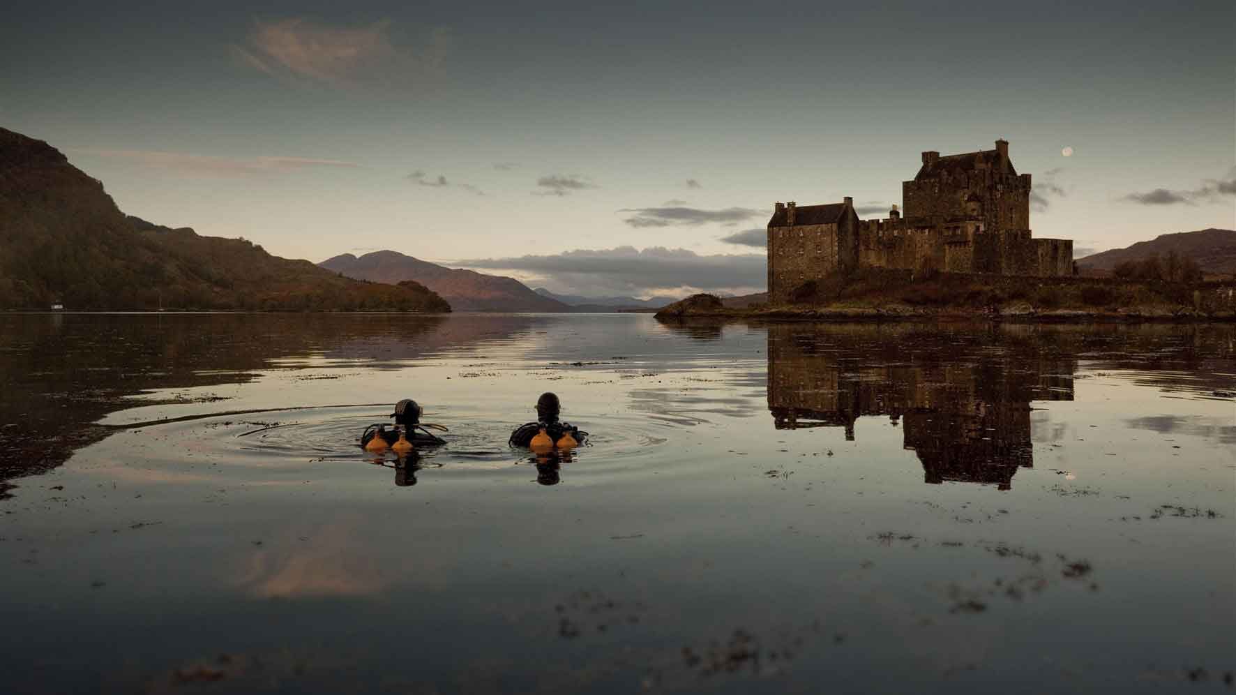EilanDonan Castle - one of the most iconic images of Scotland