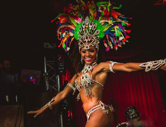 Late night restaurant, bar & club - experience an extravagant latin show taking the audience on a dazzling and unforgettable journey through Brazil and Latin America