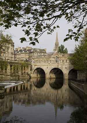 Bath - Roman Baths and the Royal Crescent