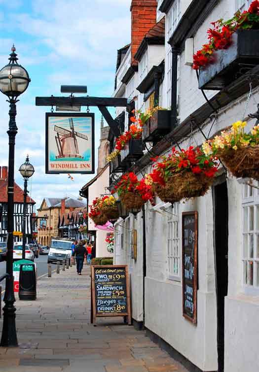 Panoramic tour of Stratford upon Avon