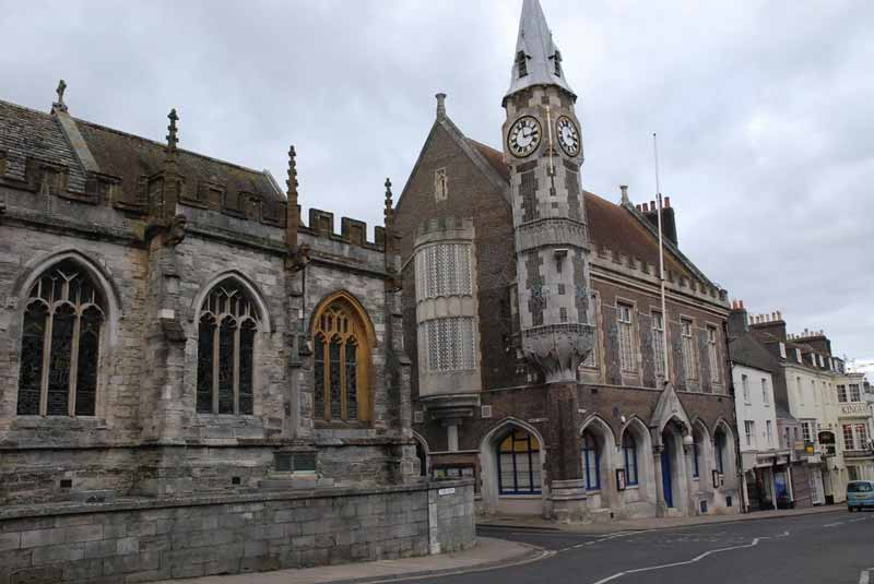 Guided walking-tour around Dorchester, the inspiration for Hardy's Casterbridge in The Mayor of Casterbridge