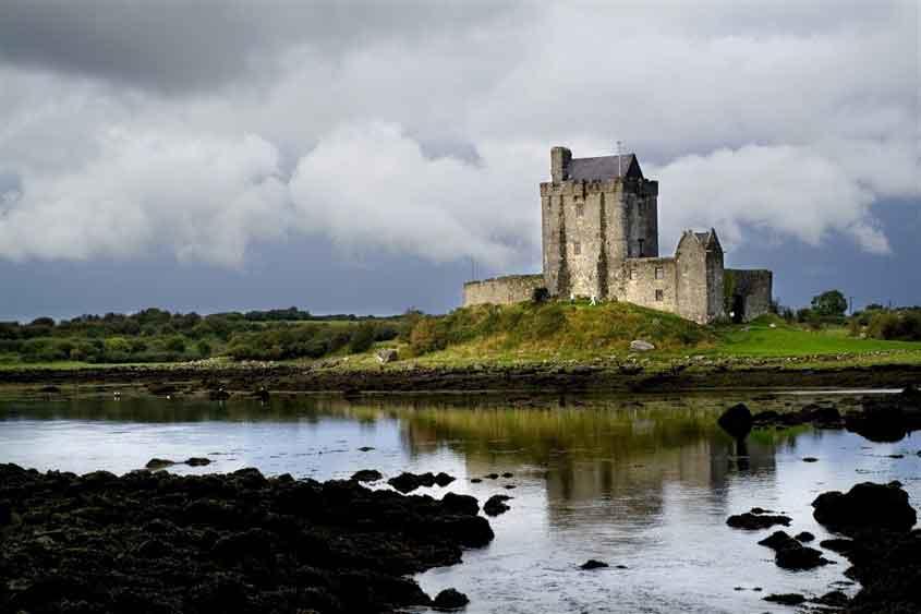 Visit Dungaire Castle, a 16th century tower house