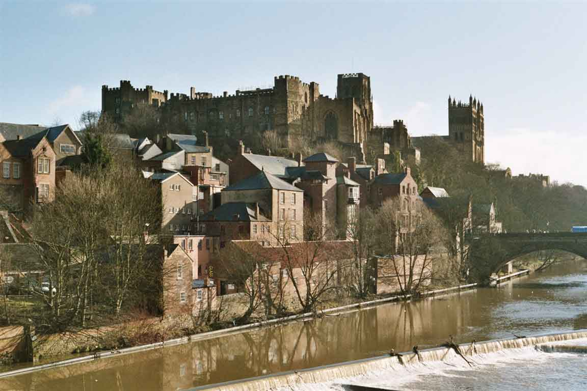 Enjoy Durham, a captivating city with winding cobbled streets and a prominent peninsula