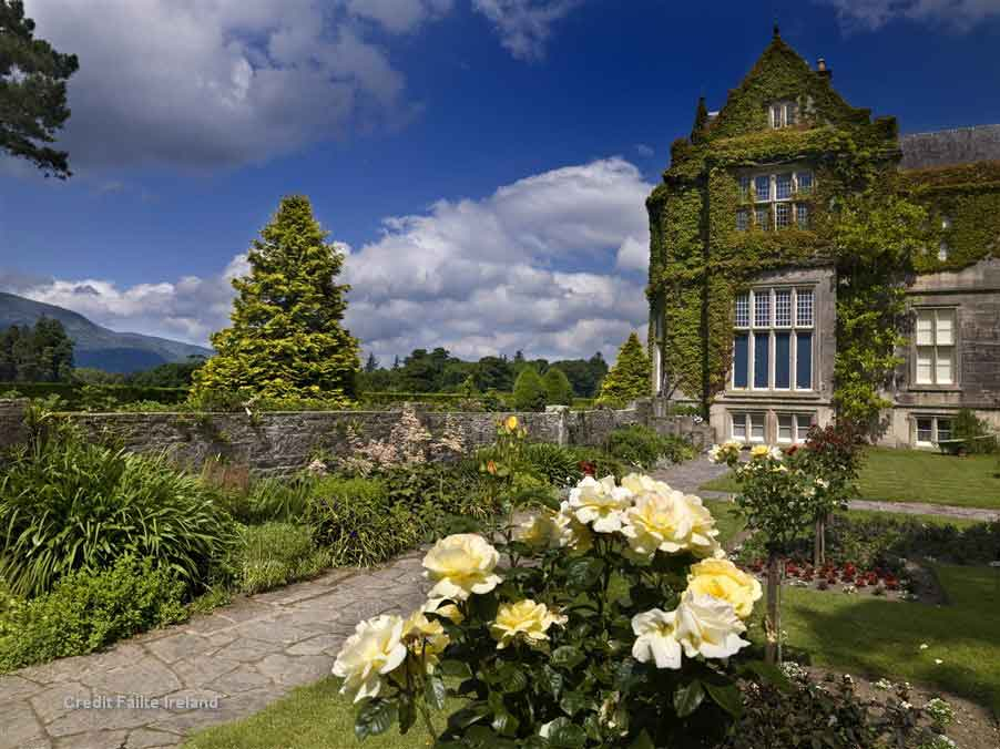 Muckross House, a magnificent Victorian mansion built