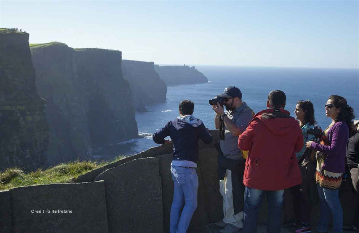 Stop at The Burren and Cliffs of Moher to take in the stunning views