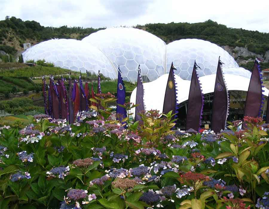 Enjoy the Eden Project, one of the UK's top gardens and conservation attractions