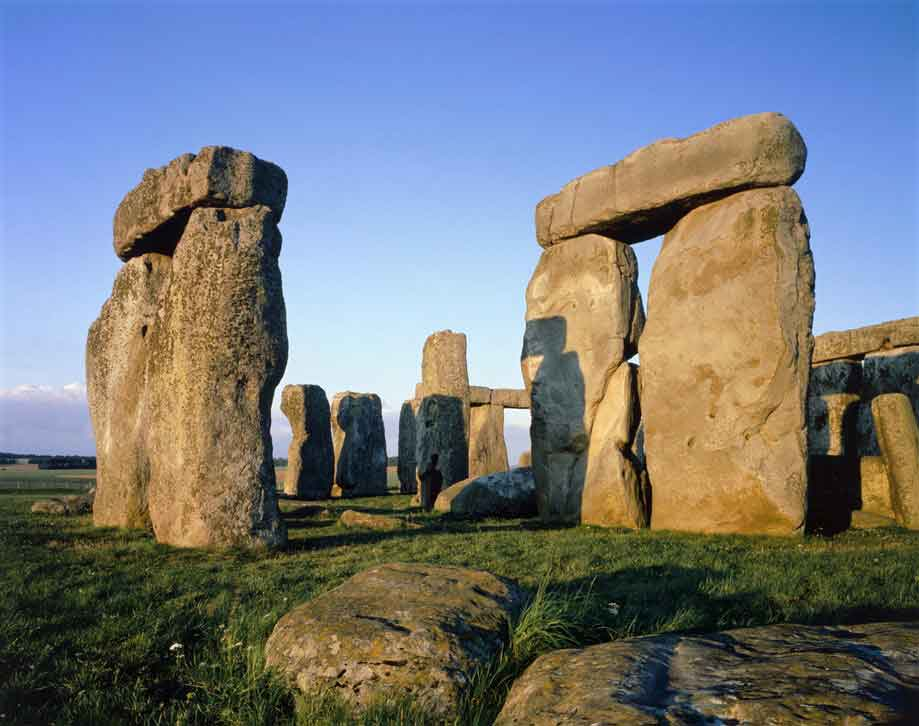 Stonehenge - masterpiece of engineering and the best-known prehistoric monument in Europe