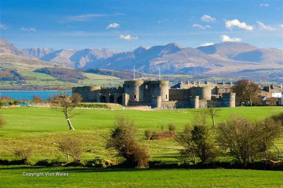 Visit the technically perfect Beaumaris Castle