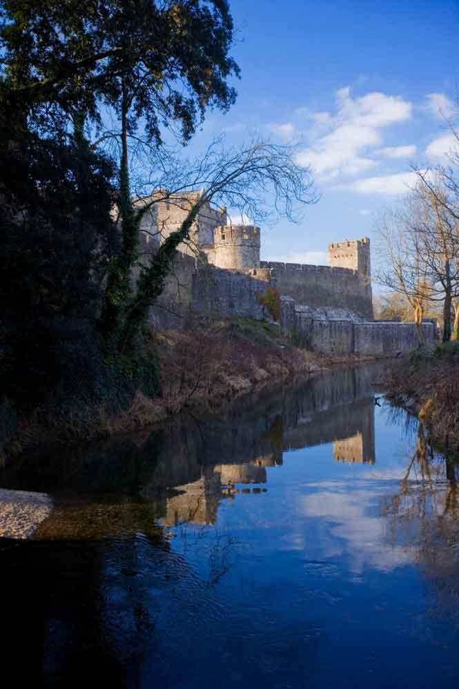 Cahir Castle - one of the largest and well preserved castles in Ireland and sited on an island