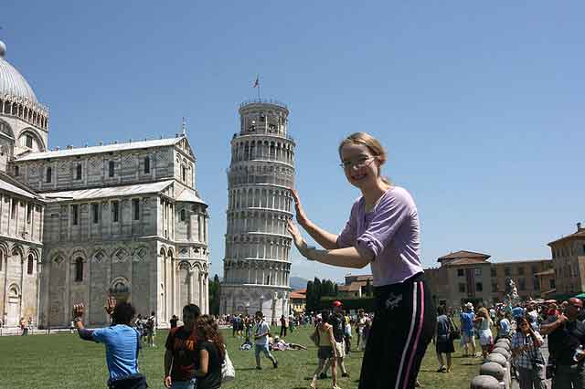 Pisa - with its ancient and magnificent Leaning Tower