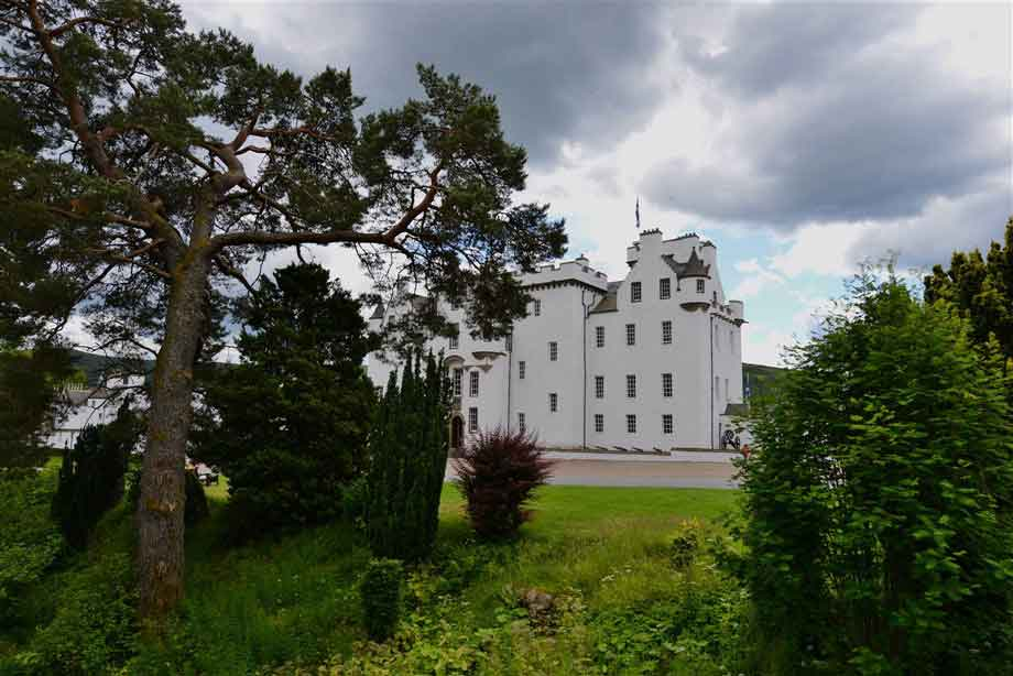 Pitlochry and  Blair Castle - discover 700 years of Scottish History across 30 rooms