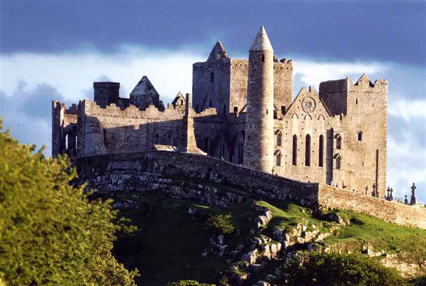 St Patrick's Rock in Cashel - one of the most remarkable collections of Celtic art and medieval architecture