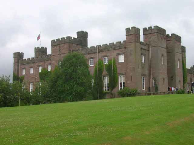 Scone Palace - once the capital of the Pictish kingdom and the centre of the ancient Celtic church