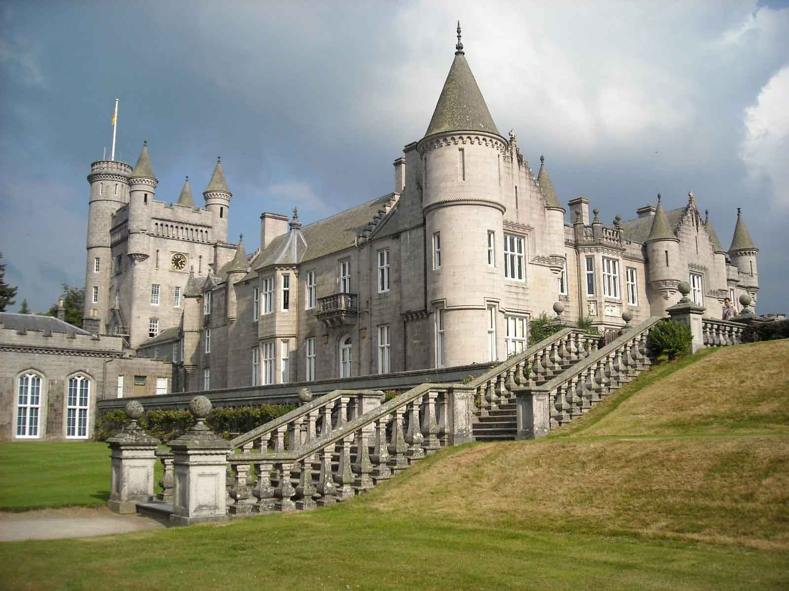 Balmoral Castle – favourite holiday residence for The Queen