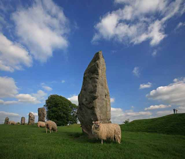 Visit Avebury and the mysterious and largest stone circle in Europe