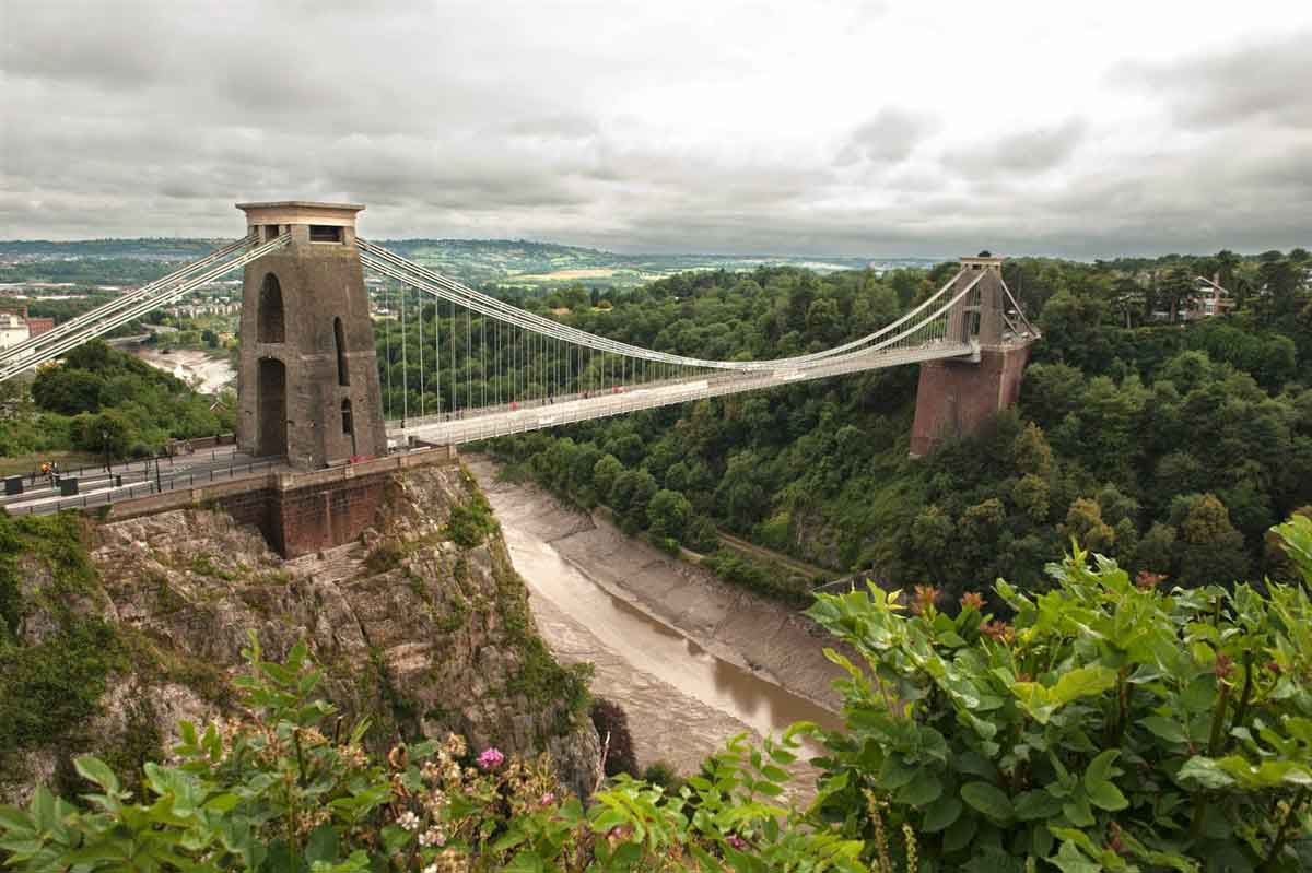 Admire Bristol with its fine old churches, elegant Georgian terraces and imposing Victorian public buildings
