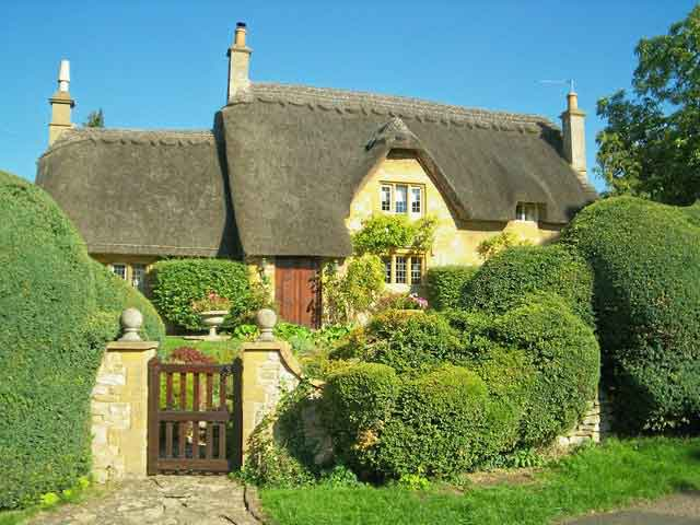 Cotswolds - famous for hundreds of honey-colour limestone villages in a beautiful rural setting