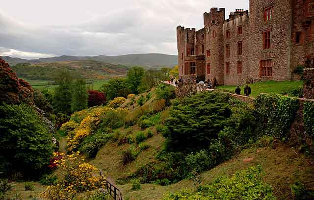 Muncaster Castle and Gardens - an historic haunted castle