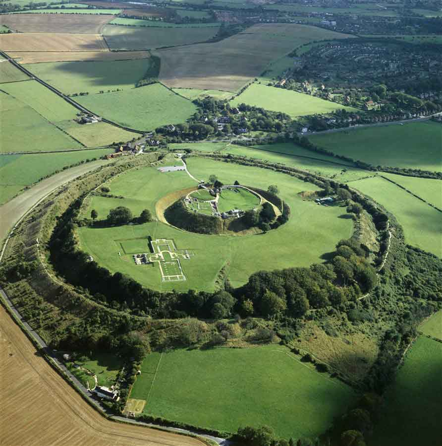 Visit the Old Sarum and discover the story of the original Salisbury