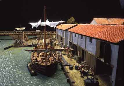 Visit the Roman exhibition at  the Museum of London