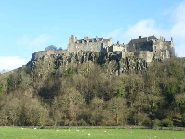 The magnificent Sterling Castle with its imposing position and impressive architecture,