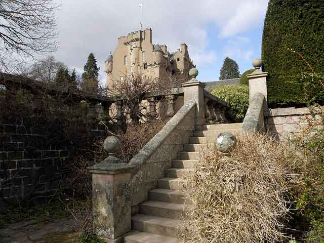 Crathes Castle, an enchanting 16th-century tower house