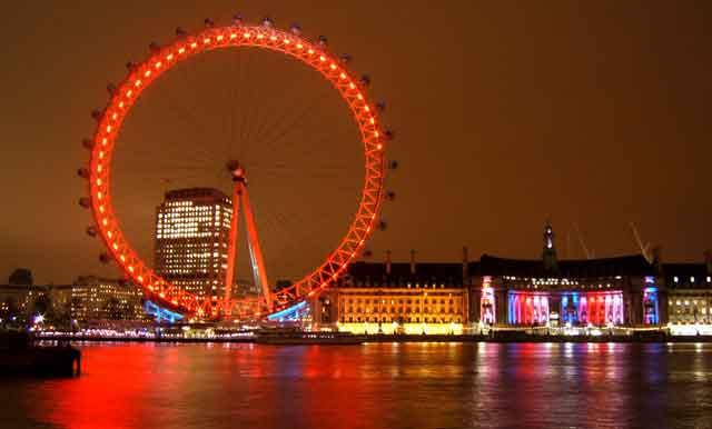 Panoramic tour of London
