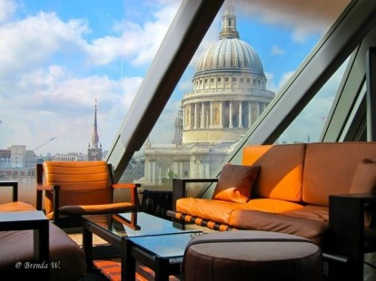 Rooftop restaurants - impress your clients or staff with spectacular views over London whilst enjoying the finest quality UK and international cuisine