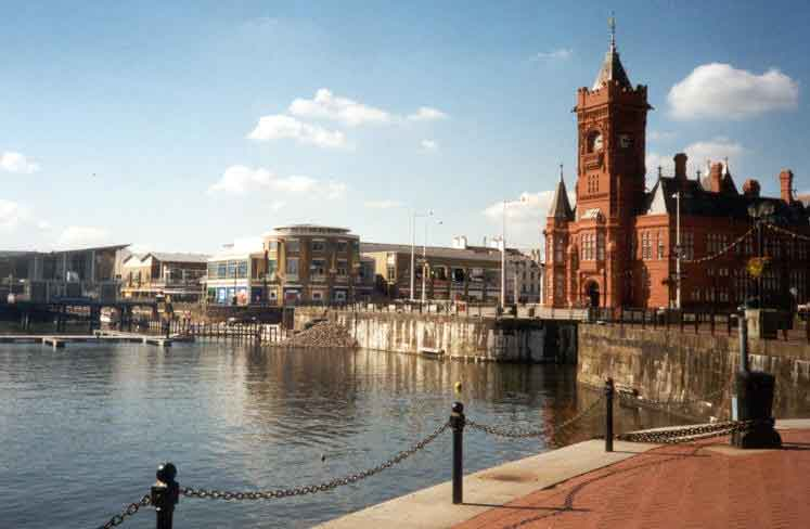 Panoramic tour of Cardiff, the vibrant capital city of Wales.