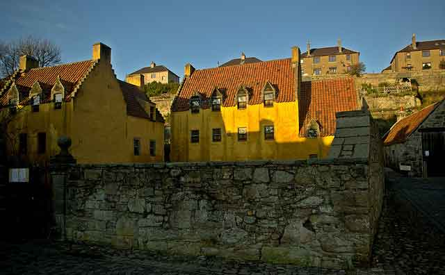 Culross - a town that time has passed by