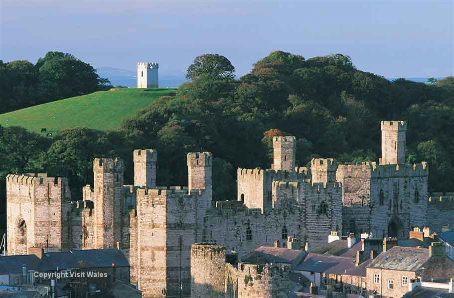 Visit Caernarfon - where the Prince of Wales  was crowned