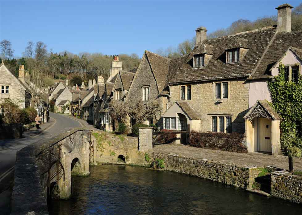 Traverse the Cotswolds, famous for hundreds of honey-colour limestone villages